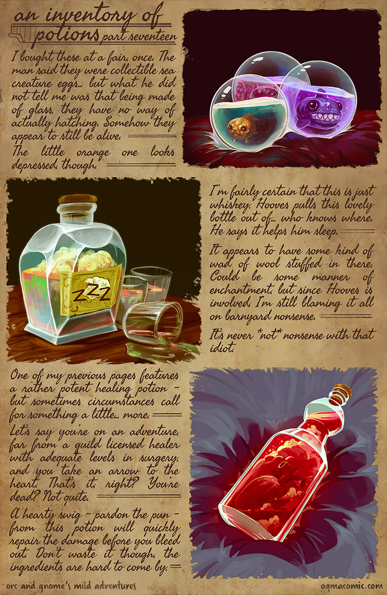 An Inventory of Potions (Part Seventeen)