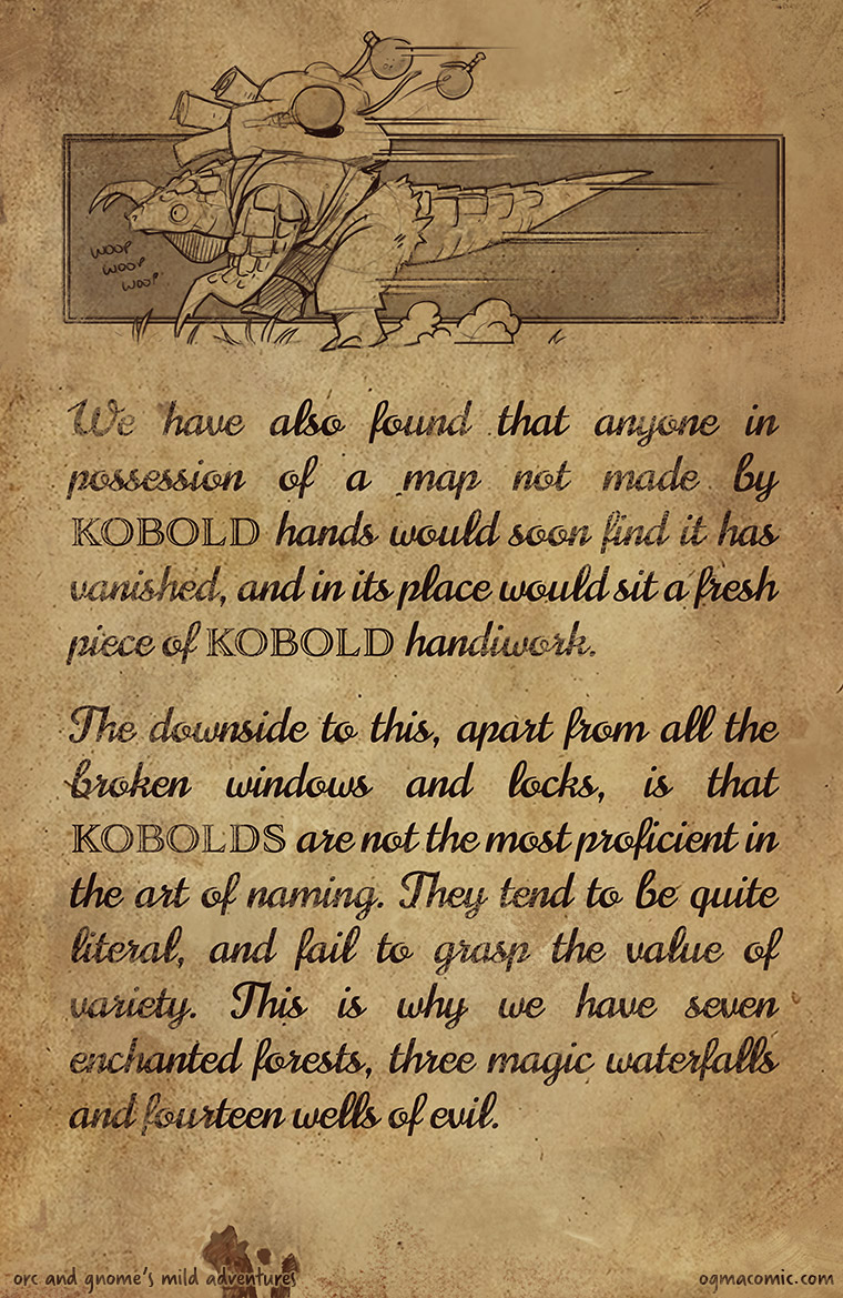 On the Subject of Kobolds