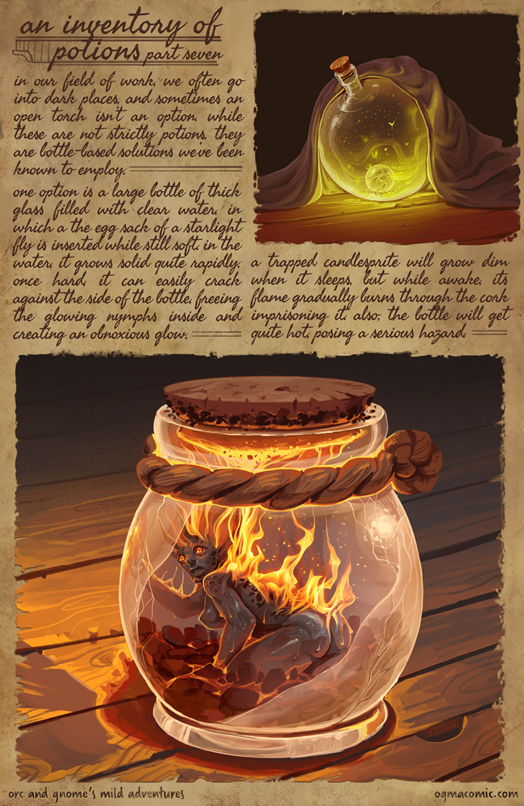 An Inventory of Potions (Part Seven)