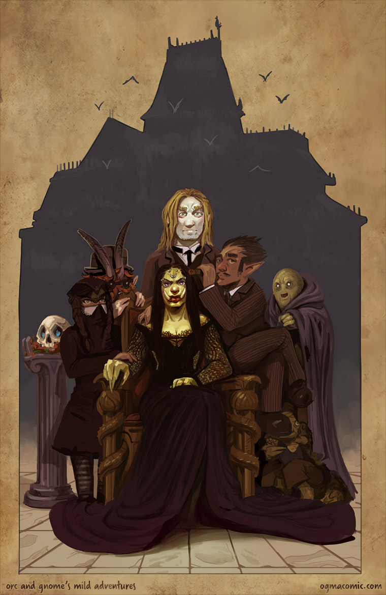 The Addams Party