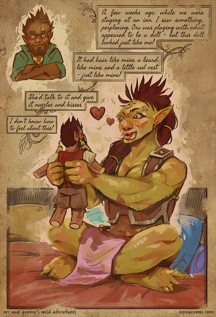 Orc Has Hobbies Too!