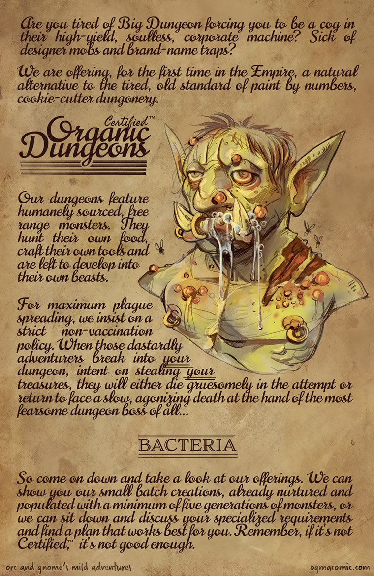 Organic Dungeons