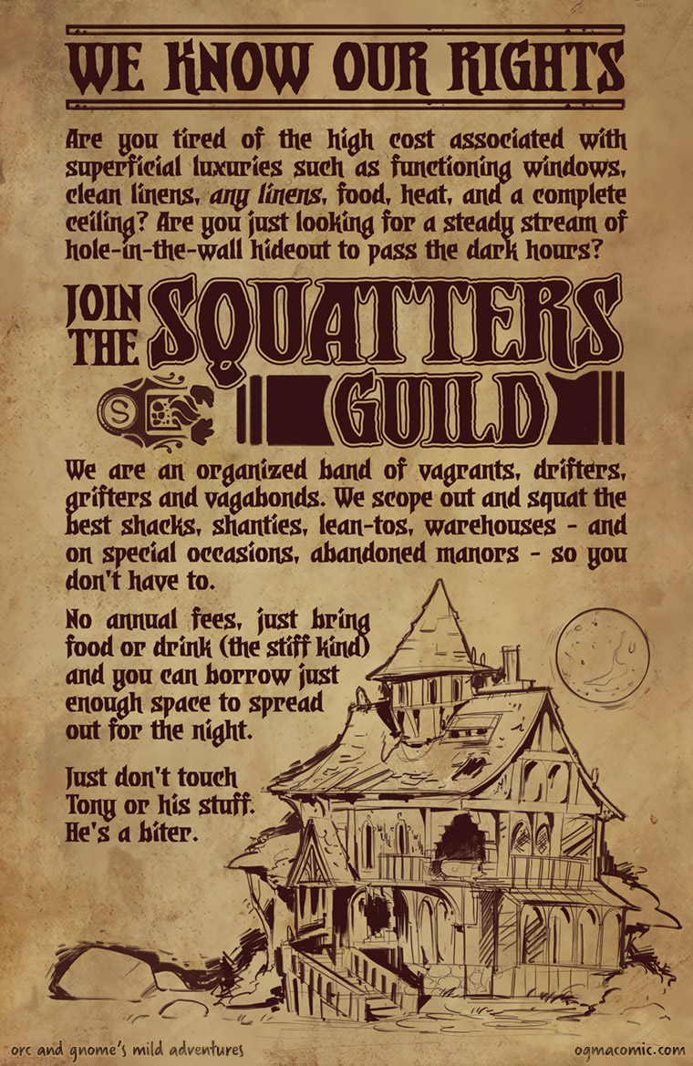 Join the Squatters Guild