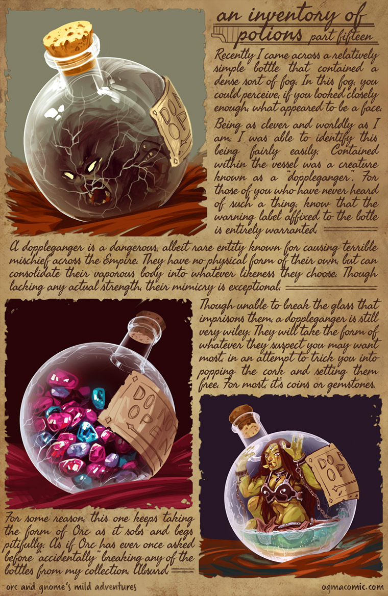 An Inventory of Potions (Part Fifteen)