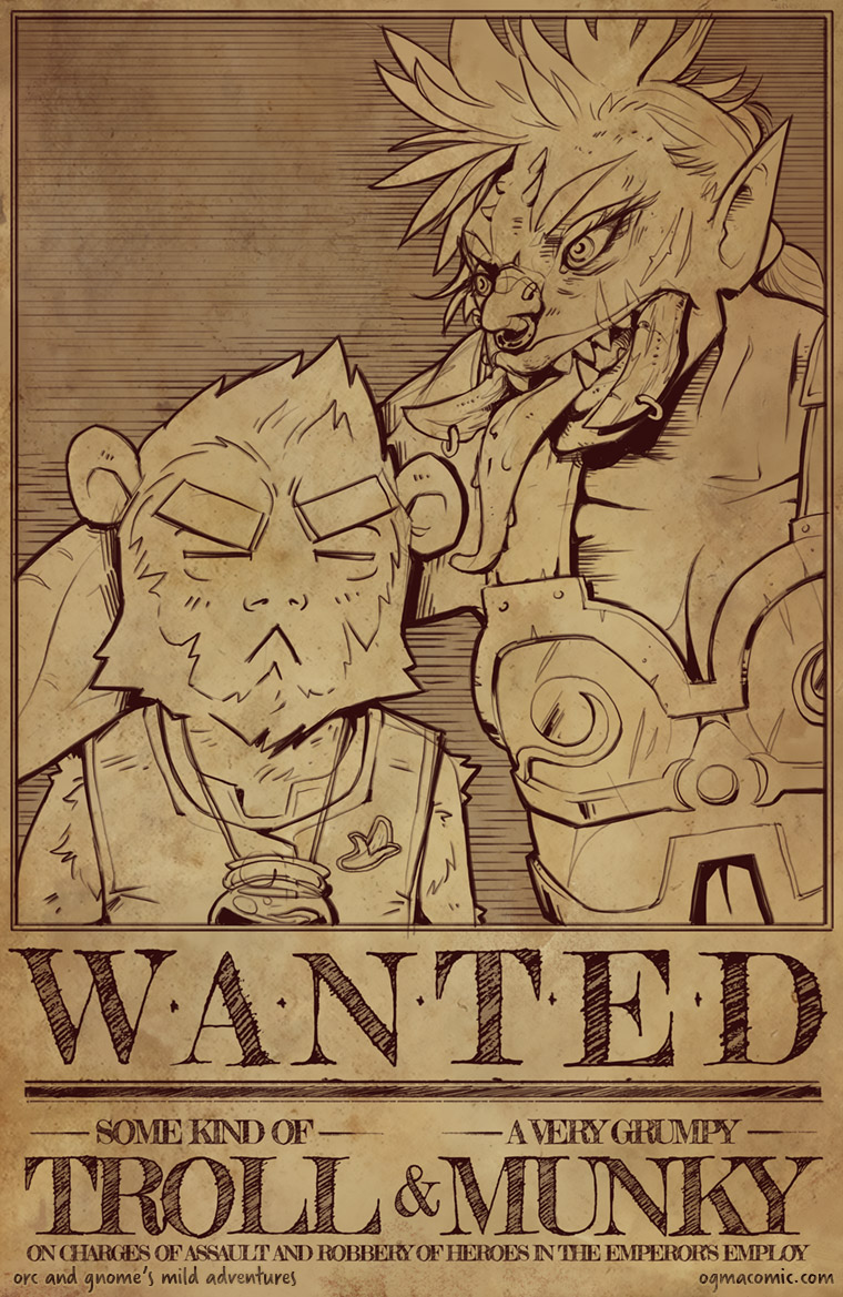 Wanted: Troll & Munky
