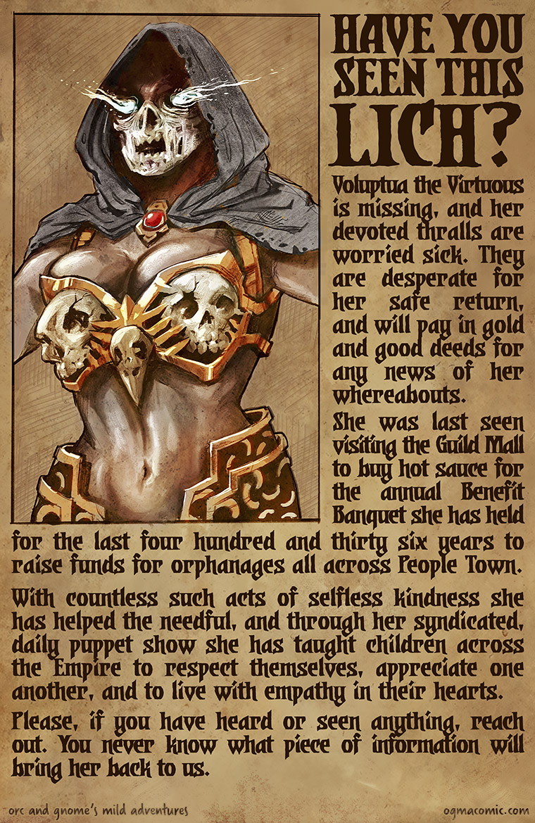 Have you seen this lich?