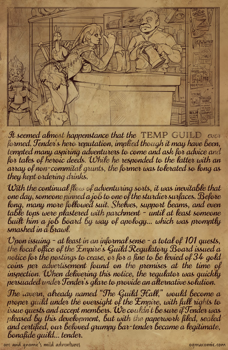The Temp Guild: A Guild is Born