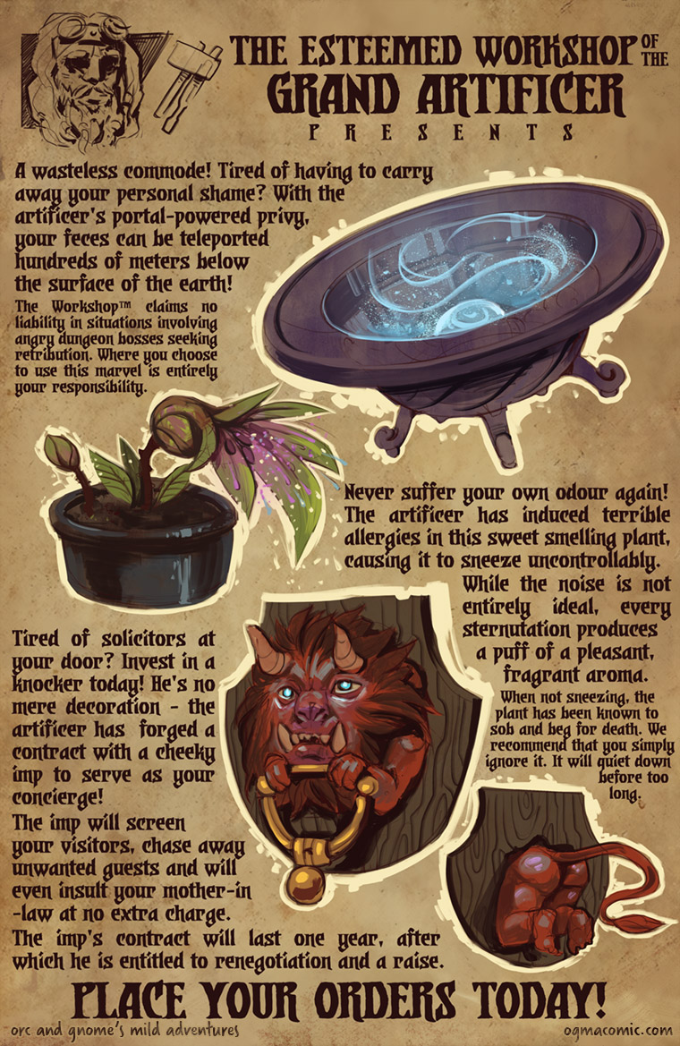 Artificer Shopping Catalogue, Page 2