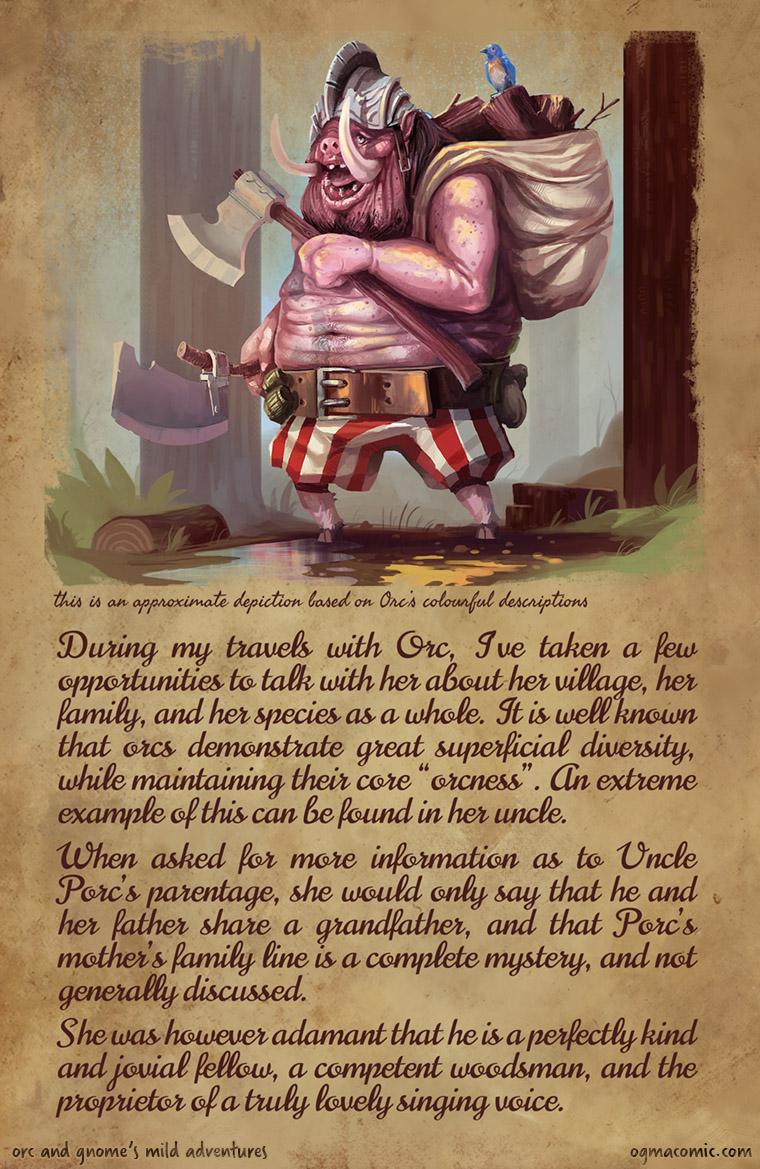 Orc's Uncle Porc